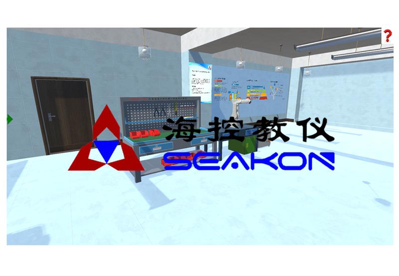 SKRIN-13型 工业机器人虚拟拆装软件